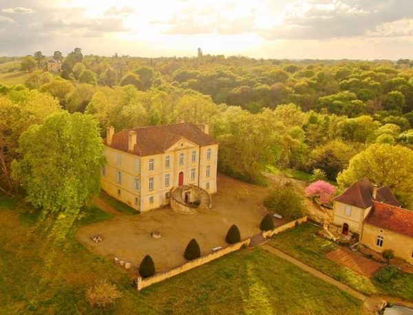 Château Viella - Vue aérienne - CHEZ MADIRAN