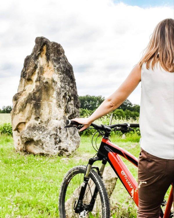 Balade vélos électriques - Vignobles Brumont
