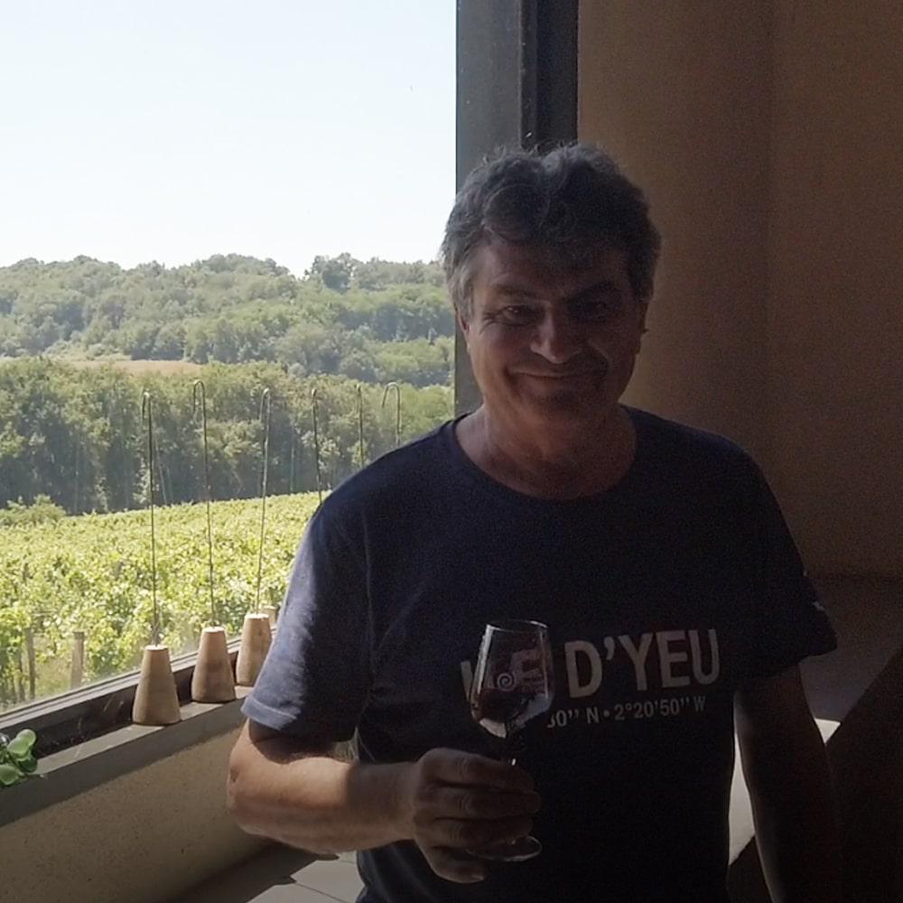 Jean Sentilles - Domaine Pichard - Chez Madiran